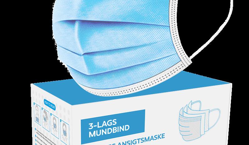 Mundbind 3 lags – den optimale beskyttelse mod smitte